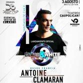 Antoine Clamaran – Lanzamiento BLACK&WHITE